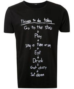Hl Heddie Lovu | Things To Do Printed T-Shirt