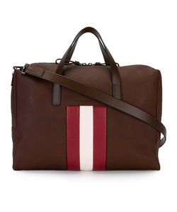 Bally | Striped Detail Tote Adult Unisex Leather