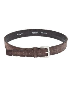 Scunzani Ivo | Crocodile Leather Belt