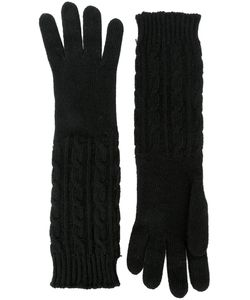 Gala | Long Cable Knit Gloves