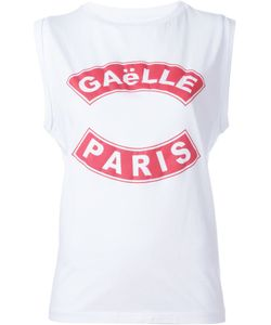 Gaelle Bonheur   Logo Print Vest