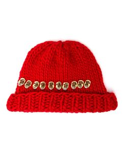 Wool And The Gang | Knitted Skull Beanie Hat
