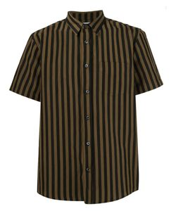 Second/Layer | Striped Shortsleeved Shirt