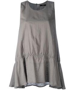 Odeeh | Ruffled Hem Tank Womens Size 38 Cotton