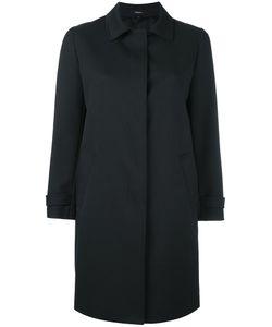 Theory | Dafina Car Coat Womens Size Large Polyester/Rayon