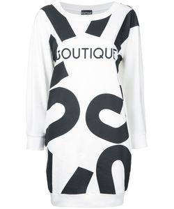 Boutique Moschino | Boutique Print T-Shirt Dress Womens Size 46 Cotton
