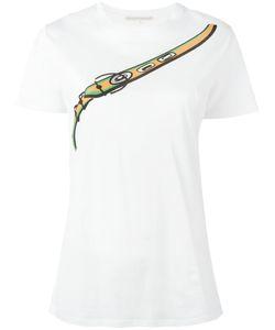 Marco de Vincenzo | Printed T-Shirt Womens Size 38 Cotton