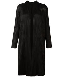 Pleats Please By Issey Miyake | Pleated Oversized Jacket Womens Size Iii