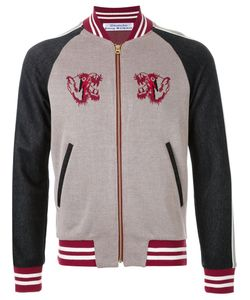 Education From Youngmachines | Panelled Bomber Jacket