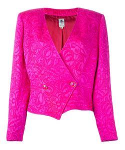 Emanuel Ungaro Vintage | Floral Cloqué Jacket