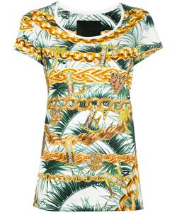 Philipp Plein | Marilyn T-Shirt Womens Size Medium Cotton