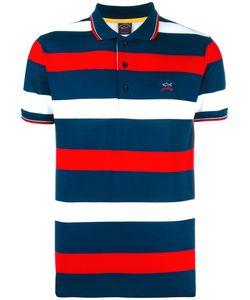 Paul & Shark | Striped Polo Shirt Mens Size Xl Cotton