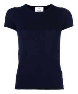 Allude | Short Sleeve Fitted Knit Top Womens Size Medium Virgin