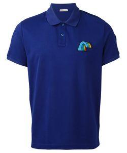 Moncler | Rainbow Detail Polo Shirt Mens Size Large Cotton