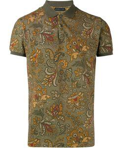 Etro | Print Polo Shirt Mens Size Medium Cotton