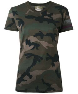 Valentino | Camouflage T-Shirt Womens Size Medium Cotton