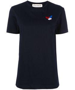 Être Cécile | Embroide Figure T-Shirt Womens Size Xs Cotton