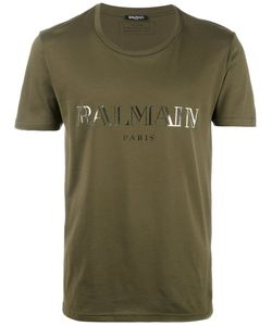 Balmain | Logo T-Shirt Mens Size Xxl Cotton