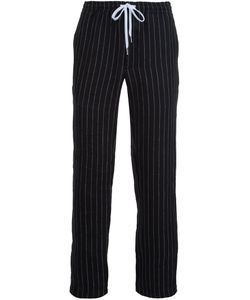Second/Layer | Pinstripe Straight Trousers