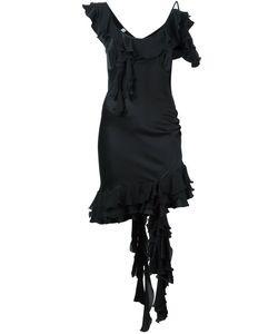 Moschino Vintage | Asymmetric Frilled Dress