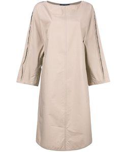 Sofie D'hoore | Minimal Tunic Midi Dress Womens Size 38 Cotton