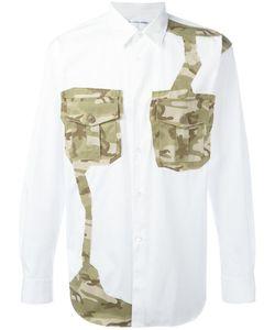 Comme Des Garçons | Shirt Camouflage Patch Shirt Mens Size Large