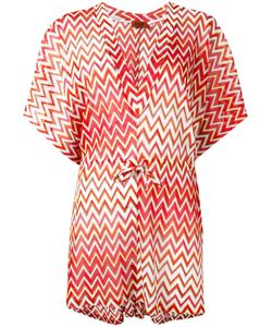 Missoni | Zig-Zag Drawstring Tunic Womens Size 42 Viscose