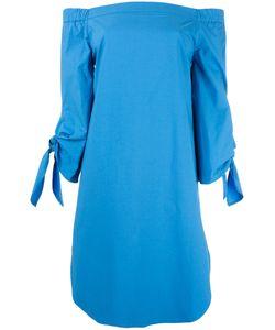 Erika Cavallini | Off-Shoulders Shift Dress Womens Size 46 Cotton/Spandex/Elastane