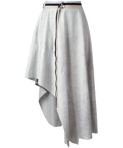 Aviù | Asymmetric Fla Skirt Womens Size 44 Polyester