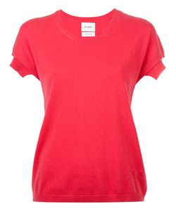 Barrie | Knitted T-Shirt Womens Size Medium Cashmere