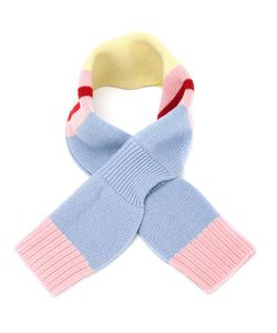 Minjukim | Color Block Knitted Scarf