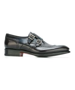 Santoni | Classic Monk Shoes