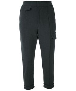 Fad Three | Cropped Flap Pocket Trousers
