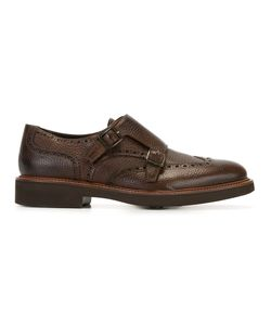 Canali | Classic Monk Shoes