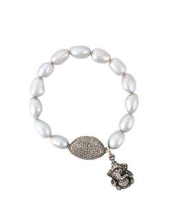 Loree Rodkin | Diamond Charm Bead Bracelet