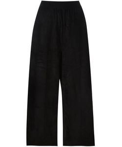 Boboutic | Mid-Rise Loose-Fit Cropped Trousers