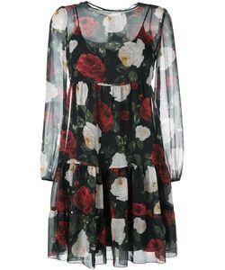 Blugirl | Semi-Sheer Floral Dress