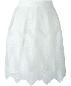 Blugirl | Embroidered Short Skirt