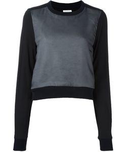 Comme Des Garçons Noir Kei Ninomiya | Sheer Panel Longsleeved Sweatshirt