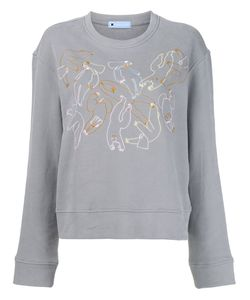 Minjukim | Embroidered Detail Sweatshirt