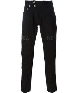 Hood By Air | Logo Print Straight Leg Trousers