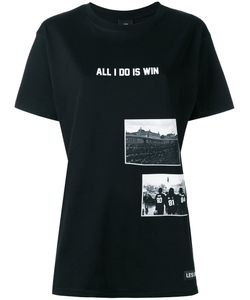 Les ArtIsts   Les Artists All I Do Is Win T-Shirt Womens Size Medium