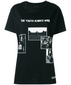 Les ArtIsts   Les Artists The Youth Always Wins T-Shirt Womens Size Medium