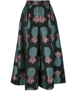 House Of Holland | Pineapple Culottes Womens Size 8 Cotton/Polyester