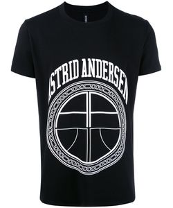 Astrid Andersen | Essential Logo T-Shirt Mens Size Large Cotton/Spandex/Elastane