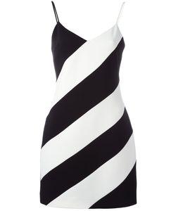 David Koma | Striped Slip Dress Size 8 Acetate/Viscose/Spandex/Elastane/Acrylic