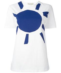 Être Cécile | Sun Print T-Shirt Womens Size Large Cotton