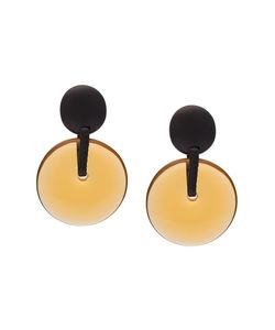 Monies | Linked Disc Clip On Earrings Womens