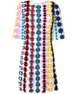 Mary Katrantzou | Nennax Guipure Lace Dress Womens Size 12 Cotton/Nylon
