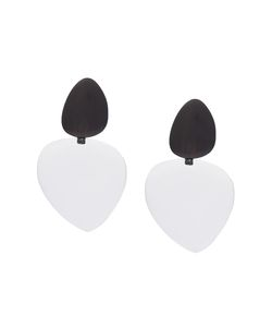Monies | Drop Disc Clip On Earrings Womens